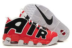 Air More Uptempo Varsity Red/Black-White Nike Mens Shoes #shoes