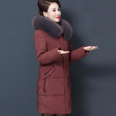 Plus Size 7XL 8XL Womens Winter Jackets Hooded Mom Overcoat Thick Parkas Cotton Female Jacket Winter Coats Warm Long Parka