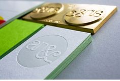 Graphic-ExchanGE - a selection of graphic projects #card #letterpress #business