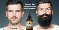How to Use Castor Oil for Beard Growth? – beauty trends