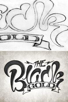 The Black Gold by Simon Alander