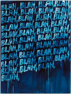 Mel Bochner | PICDIT #painting #text #art