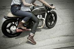 Drop Anchors #boots #& #honda