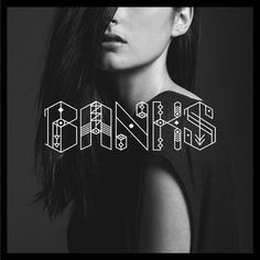banks london #banks #cover #music #cd #typography