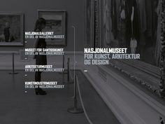 Nasjonalmuseet #norway #museum #bold #brand #type #national #mission