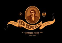Jeffrey Docherty | Allan Peters' Blog #republic #badge #identity #logo #new