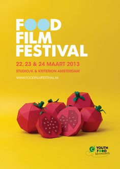 Food Film Festival on Behance #poster