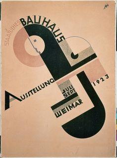 10-Bauhaus-Plakat-1923.jpg 1,181×1,595 pixels #school #design #1923 #poster #bauhaus #weimar