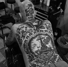 #back #tattoos