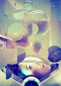 Let your mind go free by ~blade-bd on deviantART #layout #photography #typography