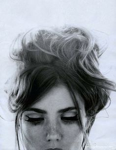 FFFFOUND! | theblankpage; #hair #photo #head #woman