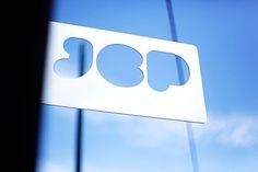 Maythorpe. » JCP Studios #die #cut #sign #identity #signage #logo