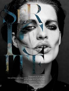 Sericite | Volt Café | by Volt Magazine #beauty #white #design #graphic #black #photography #art #and #fashion #layout #typography