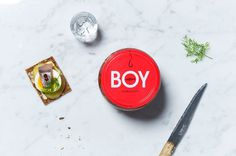 BOY- herring identity & packaging. Design Kuudes Kerros, Tony Eräpuro