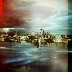 Double Exposure Photography by Katie Gregory ... | WE AND THE COLOR a blog inspiration in graphic design, illustration art, photography, product desig #seattle #katie #exposure #photography #gregory #double