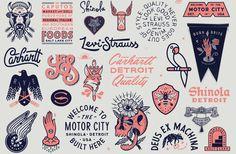 #typography #illustration #iconography #badges