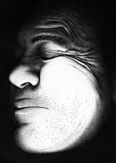 """Hero"" / Miguel Endara #dots #b&w #micron"