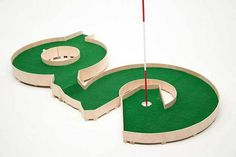 A Mini Golf Course Inspired By Typography [Pics] #typography #mini #golf