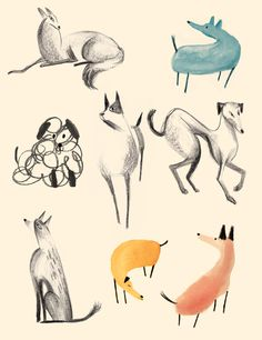 #illustration #dogs #pets