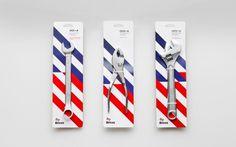 Anagrama | Bricos #packaging #steel #stools