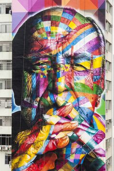 Kobra Niemeyer_By_Alan Teixeira 03 #colourful #face #mural