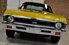 classic chevy nova, car interior, vintage, retro
