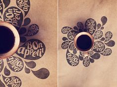 Pictures for pastry bakery III on Behance #coffee #branding