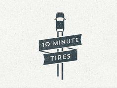 auto shop logo #shop #design #retro #auto #vintage #logo
