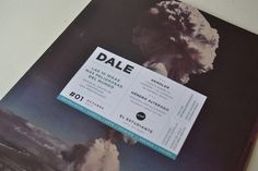 Revista DALE - Diseño Editorial on the Behance Network #type #print #moscardini #julia