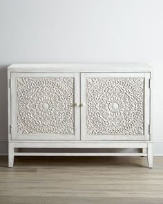 Cynthia Console Horchow #interior #rosette #furniture #console