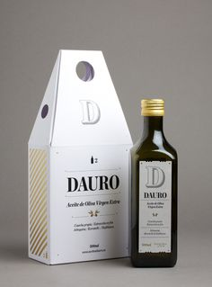DAURO 2 bottle pack (Packaging, Print) by Lo Siento Studio, Barcelona #packaging #oil #olive #bottle