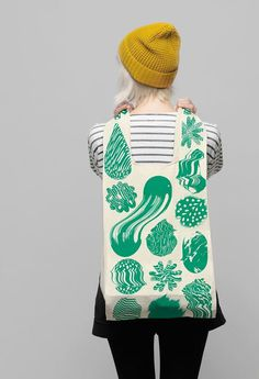 Kokoro & Moi – Illustration by Santtu Mustonen #fashion #bag #print