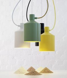 silo pendant lamp by note design studio for zero #lamp