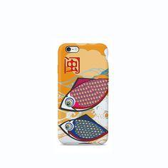 Japanese Koi Carp Fish iPhone #phonecase #design
