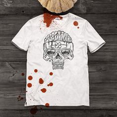 Print Scull #halloween #soon #print #horror #scull #shirt