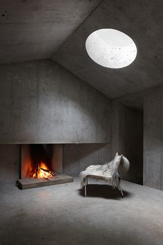 concrete cabin #architecture