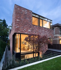 Modern Brick House in Vancouver That Encourages Play
