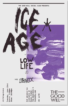 Iceage poster