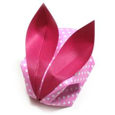 How to make a traditional origami bunny (http://www.origami-make.org/howto-origami-rabbit.php)