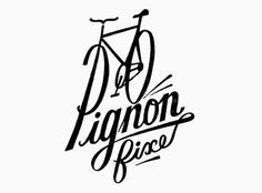 Pignon #type #hand #bike