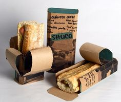 30 Creative Package Design Examples #sandwich #sustainable #packaging #design #shuco #away #take