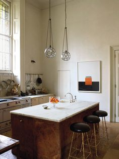Grand Simplicity #interior #kitchen