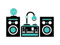 Dribbble - Set Up by Tim Boelaars #vector #cyan #illustration #system #sound