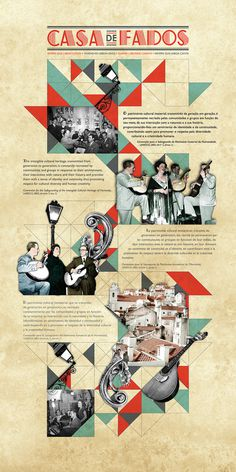 Rita Neves #fado #design #graphic #layout #collage
