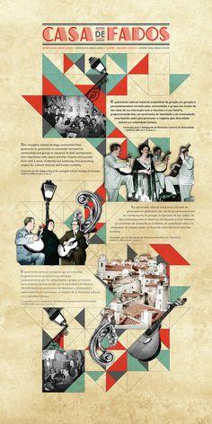 Rita Neves #fado #design #graphic #layout #collage