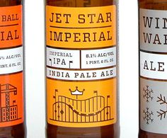 NoLi Imperial Series #packaging #beer #label #bottle