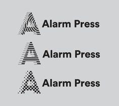 Alarm Press by Plural #vector #shapes #logotype #logo #mark