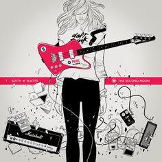 guitar silence television