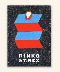 Rinko & T.Rex Jefferson Cheng — Design & illustration #draw #colour #pencil #poster