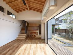 Under Four Roofs by Haretoke Architects